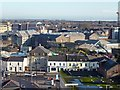 ST1876 : Rooftop view towards Cardiff Prison by Robin Drayton