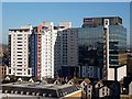 ST1876 : Rooftop view towards Helmont House, Cardiff by Robin Drayton