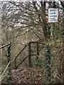 SS9084 : Railway crossing, Brynmenyn by eswales