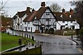 TQ5365 : Timber-framed house by the ford at Eynsford by David Martin
