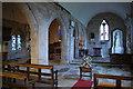 SO5634 : South chapel and chancel, St Cuthbert's church, Holme Lacy by Julian P Guffogg