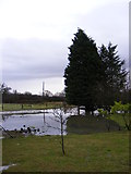TM3667 : Flooded entrance at Corner Farm by Adrian Cable