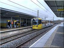 SD7807 : Radcliffe Metrolink Station by David Dixon