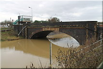 TF2643 : Hubbert's Bridge over the South Forty Foot Drain by J.Hannan-Briggs