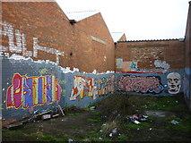 TA1031 : Graffiti along the River Hull by Ian S