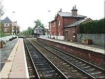 NZ5315 : Nunthorpe railway station, Yorkshire by Nigel Thompson