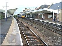 NZ4920 : Middlesbrough railway station, Yorkshire by Nigel Thompson