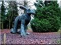 SE2812 : Half human, half hare, ready to run by John Goldsmith