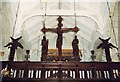 SU0311 : St Giles, Wimborne St Giles - Rood by John Salmon