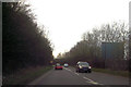 SO8957 : A4538 immediately south of M5 junction 6 by John Firth
