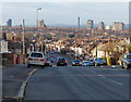 SK6103 : View across Leicester city skyline by Mat Fascione