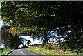 ST8096 : The B4058 near Kingscote by nick macneill
