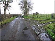 H5070 : Muddy along Dryarch Road by Kenneth  Allen