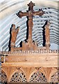 TL5521 : Holy Trinity, Takeley - Rood by John Salmon