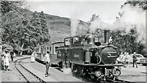 SH6441 : Train for Porthmadog at Tan-y-Bwlch, 1964 by Ben Brooksbank