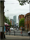 SJ8298 : Down Irwell Street to the Beetham by Carroll Pierce
