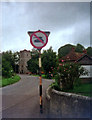 ST9943 : No tanks sign in Chitterne by Phil Champion