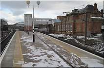NT9953 : Berwick-on-Tweed railway station, Northumberland by Nigel Thompson
