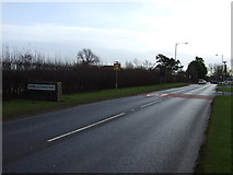 NZ4310 : A67 entering Kirklevington by JThomas