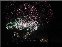 NT2573 : Edinburgh 2013 New Year's Fireworks - 6 by M J Richardson