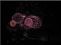 NT2573 : Edinburgh 2013 New Year's Fireworks - 7 by M J Richardson