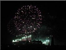 NT2573 : Edinburgh 2013 New Year's Fireworks - 8 by M J Richardson