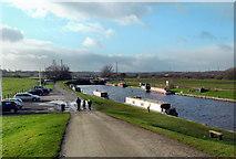 SE3724 : Aire and Calder Navigation Canal @ foxholes lane Altofts by derek dye