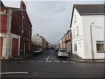 ST1166 : Eastern end of Phyllis Street, Barry Island by Jaggery