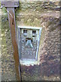 SE2807 : Ordnance Survey Flush Bracket S9251 by Peter Wood