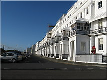 TQ3303 : Christmas delay at Chichester Terrace Kemp Town by Dave Spicer
