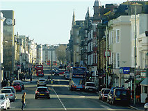 TQ2804 : Church Road in Hove, Sussex by Roger  Kidd