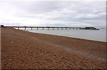 TR3752 : The Promenade Pier in Deal by Steve Daniels