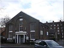 TQ2976 : Courtland Grove Baptist Church by David Anstiss