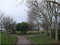 TQ2976 : Path, Heathbrook Park by David Anstiss