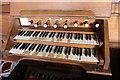 TF1696 : Organ Console, St Mary's church, Thoresway by J.Hannan-Briggs