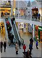 TQ3004 : Escalator in Churchill Square Shopping Centre, Brighton by Roger  Kidd