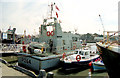 "NJ9505 : HMS ""Archer"", Aberdeen by Albert Bridge"