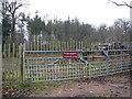 TG4901 : Padlocked gate into Belton Wood by Evelyn Simak