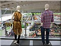 SO0708 : Security at Asda Superstore, Dowlais Top, Merthyr Tydfil by Robin Drayton