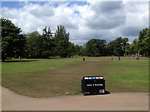 SP3165 : Pump Room Gardens after the Peace Festival by Robin Stott
