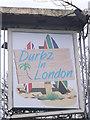 TQ2372 : Durbz in London Pub Sign, Wimbledon by David Anstiss