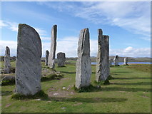 NB2133 : Callanish: by the centre of the stones by Chris Downer