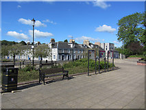 NS5225 : Mill Square, Catrine, East Ayrshire by Colin Park