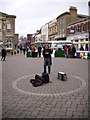 SU3645 : Andover - Street Entertainer by Chris Talbot