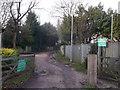 TQ2274 : Putney Park Lane, Putney Heath  by David Anstiss