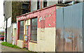 J5081 : Derelict buildings, Bangor by Albert Bridge