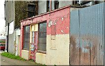 J5081 : Derelict buildings, Bangor by Albert Bridge