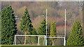 J3269 : Hockey goals, Belfast by Albert Bridge