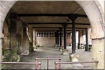 SO8700 : Pillars under the Market House by Steve Daniels