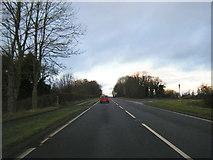 SJ2615 : A483 at Trederwen Lane by Colin Pyle